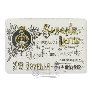 サンタ・マリア・ノヴェッラ SANTA MARIA NOVELLA ミルクソープ 無香料 100g 訳あり・外装不良 (400139)|cosme-link