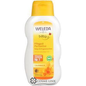 ヴェレダ WELEDA カレンドラ ベビーオイル 200ml 海外仕様パッケージ 訳あり・外箱不良 (096560)|cosme-link