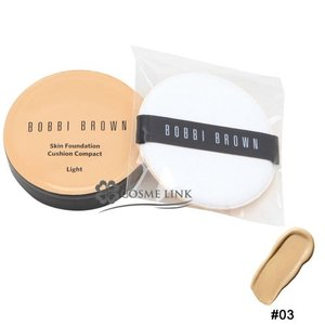 ボビイ ブラウン BOBBI BROWN スキン ファンデーション クッション コンパクト SPF 50 PA+++ #03 LIGHT (166735)