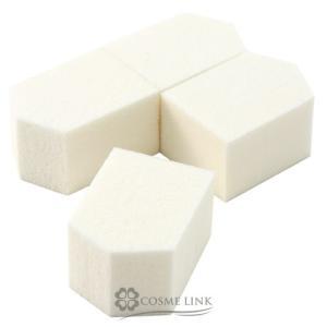 5角スポンジ  細部まで正確に塗れる多面体。ファンデーションのタイプを選ばない万能スポンジです。 目...
