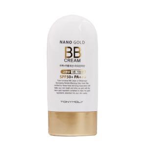TONYMOLY (トニーモリー)Nano Gold BB Cream ナノゴールド BBクリーム SPF50 PA+++ 60ml対応 韓国コスメ/韓国 コスメ/韓コス/BBクリーム/bb H|cosme-market