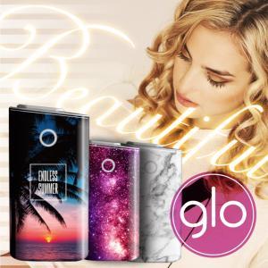 glo グロー シール 送料無料 ケース カバー 選べる 12デザイン 専用 スキンシール グロー グロウ Label for glo デザイナー イラスト スキンシール ステッカー|cosme-market