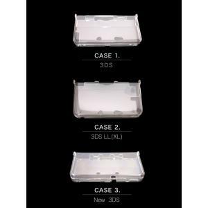 ニンテンドー NEW 3DS 2DS LL (NINTENDO DS) 対応 クリア ハードケース 本体保護 クリア 保護ケース 任天堂 ポリカーボネート 強化カバー 保護カバー|cosme-market|05