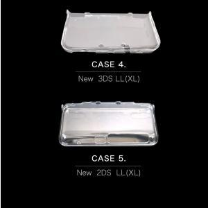 ニンテンドー NEW 3DS 2DS LL (NINTENDO DS) 対応 クリア ハードケース 本体保護 クリア 保護ケース 任天堂 ポリカーボネート 強化カバー 保護カバー|cosme-market|06
