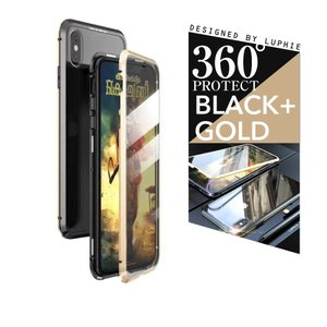 iPhone XR ケース iphone8 ケース iPhone XS ケース 耐衝撃 iphoneケース アルミバンパーケースxr 両面ガラス製スマホケース フルカバー 9H|cosme-market|10