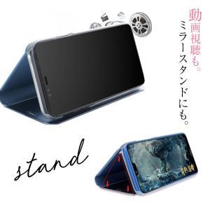 iPhone XR ケース iPhone XS ケース iPhone8 ケース iPhone7 ケース 鏡面仕上げ 手帳型 スマホケース 鏡 ミラー ミラー付き|cosme-market|06