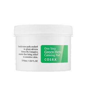 COSRX コスアールエックス ワンステップ グリーンヒーローカーミングパッド  (緑) 70枚入[0479]|cosme-nana