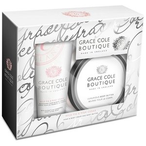 グレースコール ブティック ボディバター BOXセット ワイルドフィグ&ピンクシダー GRACE COLE BOUTIQUE cosme-nana