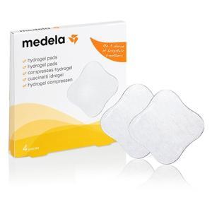 メデラ ハイドロジェルパッド 4枚(4個)入り 乳頭の痛みの緩和[6827]|cosme-nana