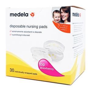 メデラ ナーシングブラパッド 30枚(30個)入り 使い捨て母乳パッド[0372]|cosme-nana