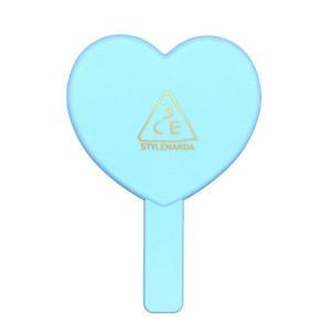 スタイルナンダ ラブ 3CE ハート ハンドミラー #ブルー(BLUE)[5664][P1] 郵パケ送料無料|cosme-nana
