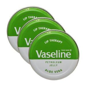 ヴァセリン リップセラピー 20g×3個セット アロエヴェラ[8301][P2] 郵パケ送料無料|cosme-nana