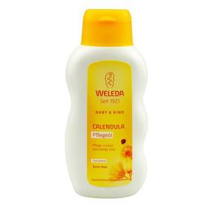 ヴェレダ カレンドラ ベビーオイル 200ml (香料無しで低刺激な海外仕様)[7048/6560/2207/7939/8448]|cosme-nana