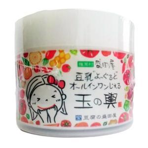 豆腐の盛田屋 豆乳よーぐると オールインワンじぇる 玉の輿 80g|cosme-nana