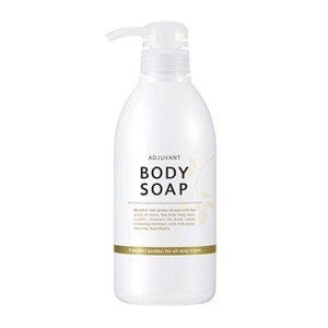 アジュバン ボディソープ 500ml 潤いを保ちながら、すっきり洗い上げるアロマ香るボディソープ。 ADJUVANT|cosme-nana
