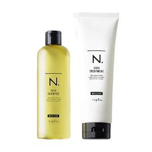 ナプラ N. エヌドット シアシャンプー 300ml & トリートメント 240g モイスチャー セット (外箱キズあり) ホワイトフローラルの香り[5618_5717] 送料無料 cosme-nana