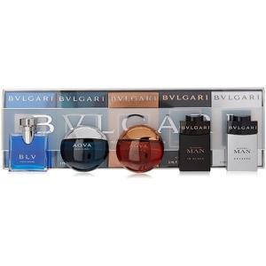 ブルガリ ザ・メンズ ギフトコレクション ミニセット 5ml×5P ミニ香水[5172] ミニチュア BVLGARI 送料無料|cosme-nana