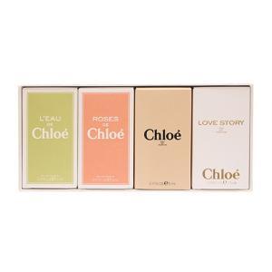 クロエ クロエ ミニチュアコレクション N4 ミニ香水4Pセット 5ml×3個+7.5ml×1個[9657] 送料無料|cosme-nana