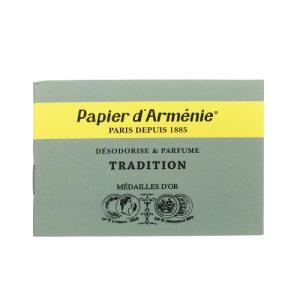 パピエダルメニイ トリプル (緑) 1冊(1シート3回分×12枚/36回分) トラディショナル 紙のお香 インセンス[0113][TN50] 郵便送料無料|cosme-nana