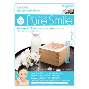 【フェイスパック/美容マスク/ピュアスマイルエッセンスマスクシリーズ】PureSmile 041 日本酒【保湿シート】