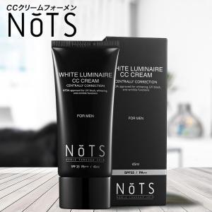 NOTS ホワイトルミネールCCクリーム フォーメン SPF25・PA++ 45ml メンズ 男性用 化粧品 スキンケア|cosme-s