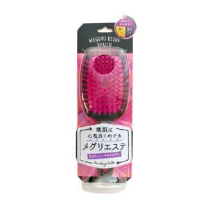 メグリエステブラシ パドル ピンク MEB802 ヘアブラシ|cosme-s