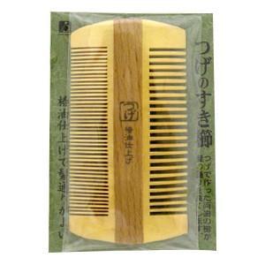 つげのすき櫛 TOG104 椿油仕上げ つげ櫛 梳き櫛 すきぐし 梳櫛|cosme-s