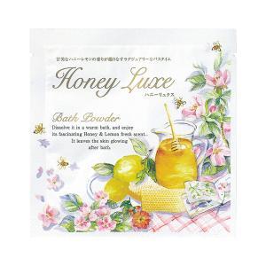 ハニーリュクス バスパウダー 40g ハニーレモンの香り 浴用化粧料 入浴剤 お風呂 ジーピークリエイツ cosme-s