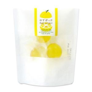 ゆずぽっか バスエッセンス ゆずの香り 3個入 入浴剤 ギフト プレゼント 贈り物にも 入浴剤 お風呂 ジーピークリエイツ cosme-s