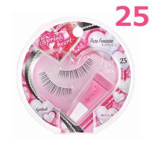springheart スプリングハートアイラッシュ No.25 ピュアフェミニン 1SH1655 全体用 接着剤付き つけまつげ|cosme-s