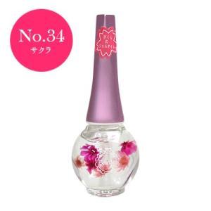 ベリンダ ネイルオイル No.34 サクラ 数量限定さくらの香り キューティクル うるおい美容液 傷んだ爪の補修・保湿・保護|cosme-s