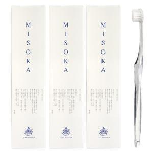歯磨き粉いらずのナノテク歯ブラシ MISOKA ミソカ アソート 歯ブラシ 3本セット|cosme-s
