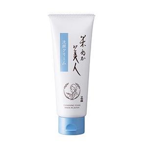 日本盛 米ぬか美人 洗顔クリーム 100g|cosme