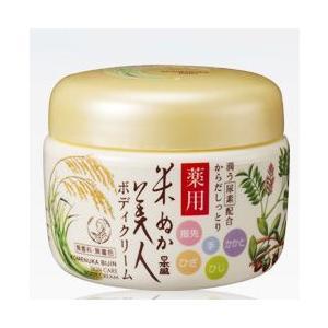 日本盛 米ぬか美人 ボディクリーム 140g|cosme