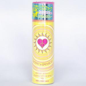 【訳あり商品】 ラブ&ピース フレグランス UVカット スプレー 60g|cosme