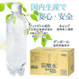 強炭酸水 500ml×24本入 ノンラベルのECOペットボトル cosmeboxオリジナル 即出荷|cosmebox|06