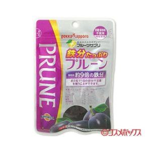 ポッカ サッポロ(pokka sapporo) フルーツサプリ 鉄分たっぷりプルーン 70g|cosmebox