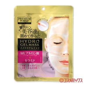 プレミアムプレサ(PREMIUM PUReSA) ハイドロゲルマスク Wヒアルロン酸 乾燥対策 1回分(25g) ウテナ 在庫限り|cosmebox