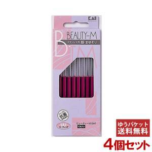 貝印 ビューティーM(SM) 顔・まゆそり用カミソリ 10本入×4個セット BTM-10H1|cosmebox