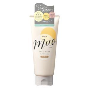 【5%還元】muo(ミュオ) クリーム洗顔料 120g クラシエ(Kracie)