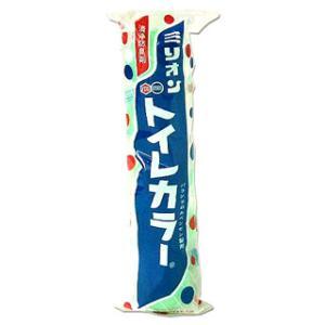 「ミリオントイレカラー 5球200g」は、男子トイレ専用芳香剤です。パラジクロルベンゼン製剤に清浄剤...
