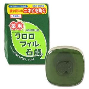 黒龍堂 薬用 クロロフィル石鹸 枠練石鹸 kokuryudo...