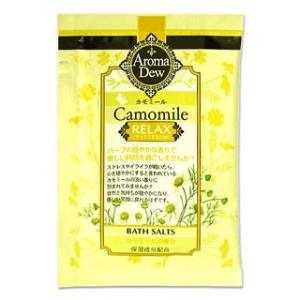 *クロバーコーポレーション アロマデュウ バスソルト カモミールの香り 25g AromaDew cosmebox