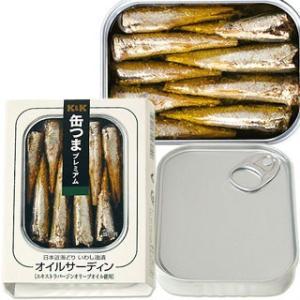 国分 K&K 缶つまプレミアム 日本近海どりいわし油漬け オイルサーディン 75g cosmebox