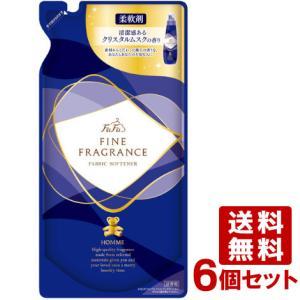 ファーファ(FaFa) ファインフレグランス 濃縮柔軟剤 オム(HOMME) つめかえ用 500ml×6個セット|cosmebox