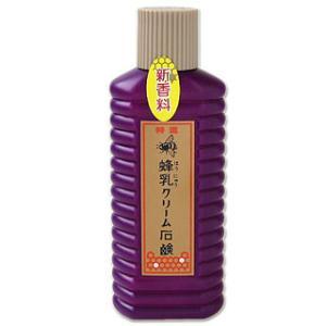 特選 蜂乳クリーム石鹸 普通肌・乾燥肌用 200ml 徳用サ...