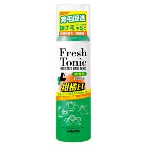 柳屋 薬用育毛 フレッシュトニック 柑橘EX 微香性 190g YANAGIYA