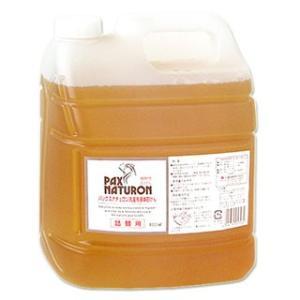 感謝セール/パックスナチュロン 洗濯用液体石けん 詰替用 4000ml パックス 太陽油脂 PAX NATURON