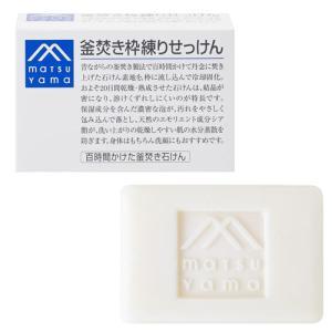 松山油脂 釜焚き枠練りせっけん 140g M-mark matsuyama|cosmebox