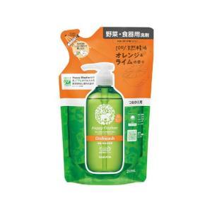 ハッピーエレファント(Happy Elephant) 野菜・食器用洗剤 オレンジライム つめかえ用 250ml サラヤ(SARAYA)|cosmebox